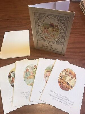 Unused vintage vintage greeting cards paper collectibles page 90 day remembered current inc c 1978 greeting vintage cards set of four m4hsunfo
