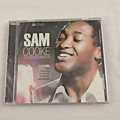Sam Cooke Greatest Hits 20 Songs Music CD 2013 TGG Direct Hard To Find Edition