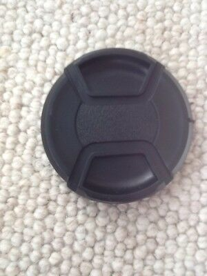 67mm Centre Pinch Lens Cap suitable For Nikon, Canon And Other Lenses