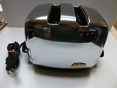 RARE Vintage Antique Sunbeam Pop-Up Toaster