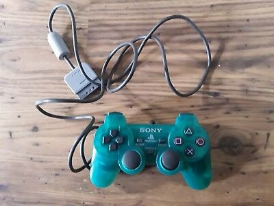 Official OEM Emerald Green Sony Playstation 1 PS1 PSONE Controller TESTED