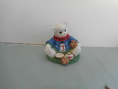 VINTAGE ENESCO  CALICO  KITTEN    A Dash of Love Makes You Sweeter   1997