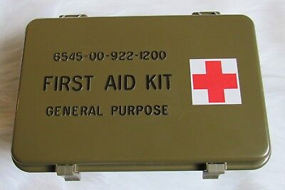 NEW US MILITARY FIRST AID KIT CURRENT ISSUE 6545-00-922-1200 prepper Survival
