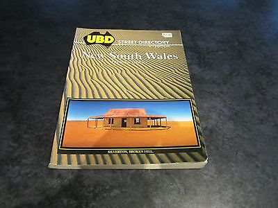 NEW SOUTH WALES STREET DIRECTORY - UBD CITIES & TOWNS 8th EDITION 1990