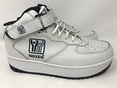 1a7441a859b3 Women s Nikken Weighted Workout White Cardio Stride Training Shoes Style F  Sz 9M