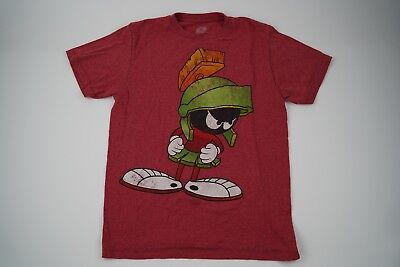 Looney Tunes Marvin//Martian Racer Men Jersey T-Shirt Size M $68.00 Warner Bros