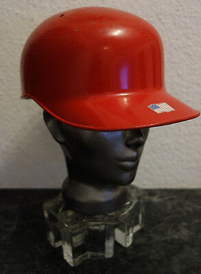 Baseball Helm Schutz Sport Echt Metal Orginal Retro USA  RAR  - RL  GR. M 57