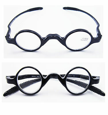 fd04c7a5c3 BEISON SMALL ROUND Eyeglasses Plain Glasses Frame Clear Lens 42mm ...
