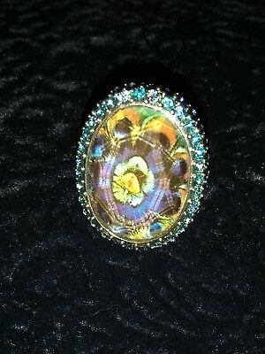 Art Nouveau - Vintage Ring - Deco - Size 7 - Must See! F/s And F/s Ft