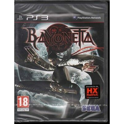 Bayonetta Video game Playstation 3 PS3 Sealed 5055277000685