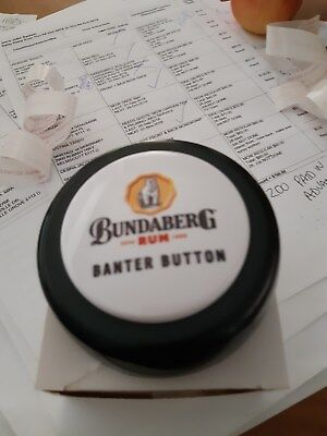bundaberg rum banter button - you record what you want it to say