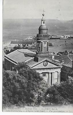 Guernsey, St Peter Port - St James Church; by LL; posted 1911