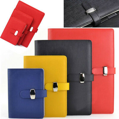 Personal Pocket Organiser Planner Diary Leather Cover Journal Notebook 3 Size AU