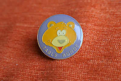 06355 Pin's Pins Table Ronde Ours Bear