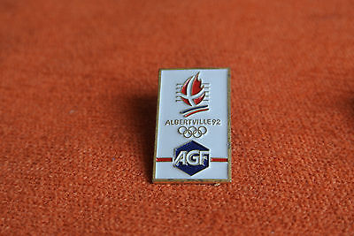 10533 PIN'S PINS JO ALBERTVILLE 92 OLYMPIC WORLD GAMES AGF 27x16mm - DOS : C