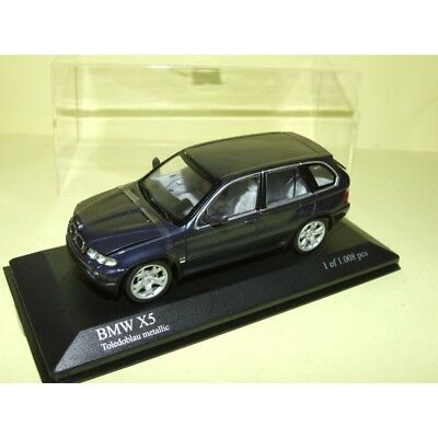 1:43 Minichamps bmw x5 e53 4.4i light Yellow 2000 New en Premium-modelcars