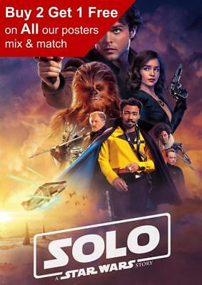 Solo A Star Wars Story Teaser Poster A5 A4 A3 A2 A1