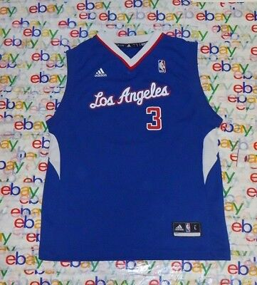 048aa4a64 YOUTH S NBA Los Angeles CLIPPERS   3 CHRIS PAUL ADIDAS SCREEN JERSEY LARGE L