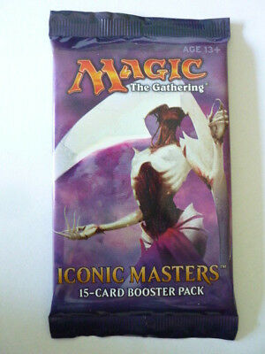 Magic: Iconic Masters Booster Pack (OVP) englisch