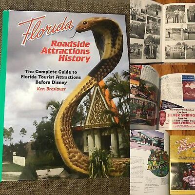Florida Roadside Attractions History 208-page All Color Book Pre-1971 Tourism