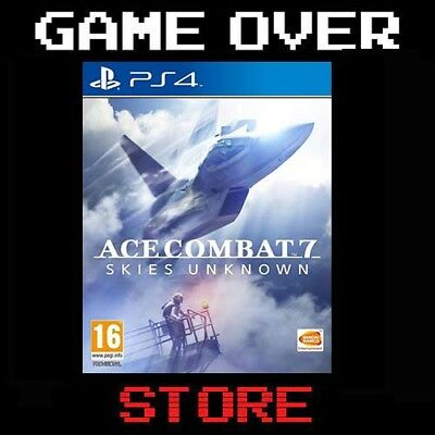 ACE COMBAT 7 SKIES UNKNOWN Playstation 4 PS4 Nuovo