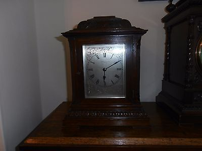 Oak Bracket Clock