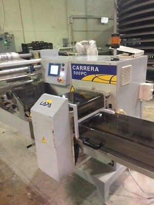 Used Ilapak Carrera PC 500 Print Reg Horizontal Flow Wrapper (2014)