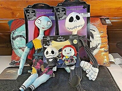 Nightmare Before Christmas Jack & Sally Hallmark itty bitty Special Edition!!!!