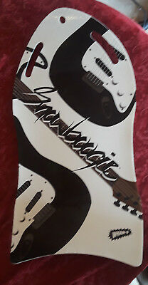 Wham-O Air Slick Snow Sled/Board Guitar Themed Single Rider Roll Up