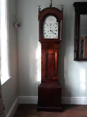 Eight Day Longcase Clock by W Carter, Salisbury