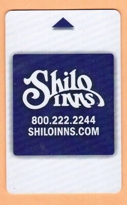 "HOTEL ""SHILO INN"" U.S.A.  ROOM KEY / CARD for collection"
