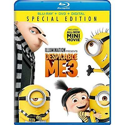 Despicable Me 3 Special Edition Blu-Ray Combo Pack (Blu-Ray/DVD/Digital HD)