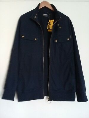 Barbour International mens Hawkesbury Blue Slim Fit Jacket Size XL New With Tags