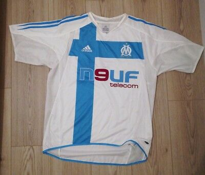 Maillot Om saison 2004-2005 - Maillot adidas olympique de marseille. Taille  M 867076209ebe