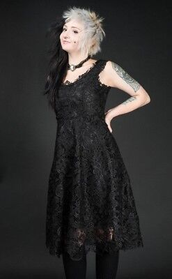 Black Art Deco Dress, Beautiful, Lace, Sexy Goth, Halloween Party, BLAIZE MERCH