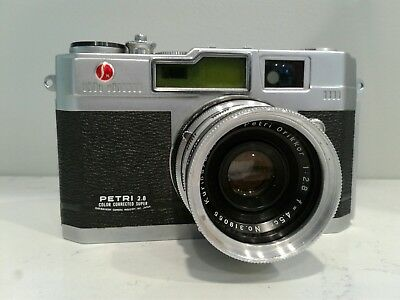 Petri 2.8 Color Corrected 35mm Rangefinder Camera ***UNTESTED***