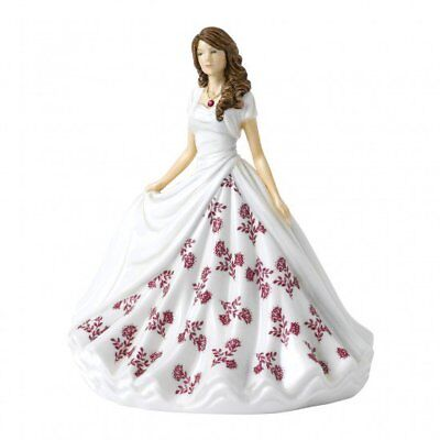 Royal Doulton Birthstone Petites Figurine of the Month - July Ruby