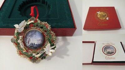 The White House Historical Association 2013 Christmas Ornament, Box, & Pamphlet