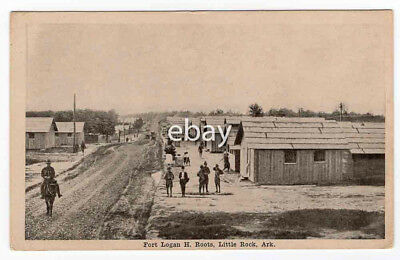 RPPC Fort Logan H. Roots, Little Rock, Ark. ca. 1917 REAL Post Card