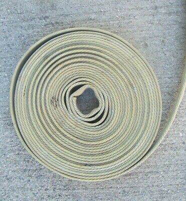 "Used Fire 1"" Hose 1 3/4 In.(Flat) Boat Dock Bumper Railing Rubber Lined 24' Long"