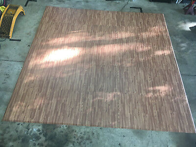 10' x 10' Woodgrain Trade Show Floor w/Beveled Edges, 2' x 2' Interlocking Tiles