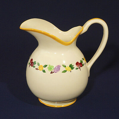 Small Fruits Franciscan Pitcher