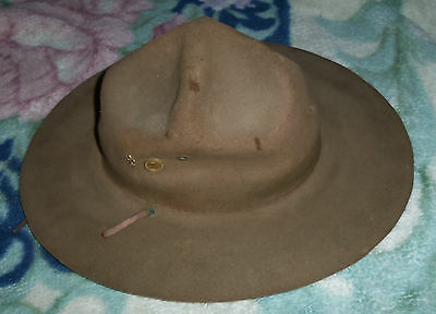 Vintge BSA Boy Scouts of America Scoutmasters Hat
