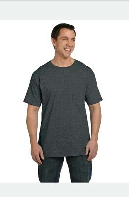 Hanes Beefy-T TAGLESS POCKET T-Shirt NEW 60% Cotton 40% Polyester 5190 Men Tee S