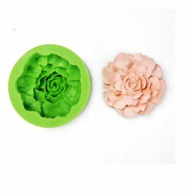Silicone (Carnation No.1)  Soap Mould Mold