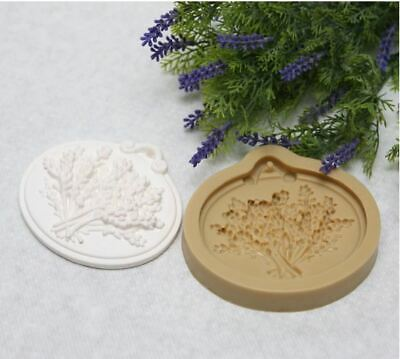 ( Handmade Mould) Lavender bundle Soap Mould Plaster  Mold
