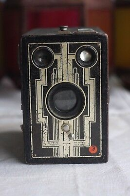 Vintage Camera Box Brownie ~ Great little Camera ~ Working!
