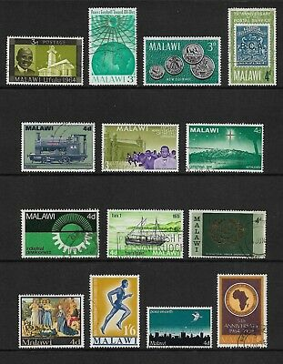 MALAWI mixed collection No.6, pre-decimal, used