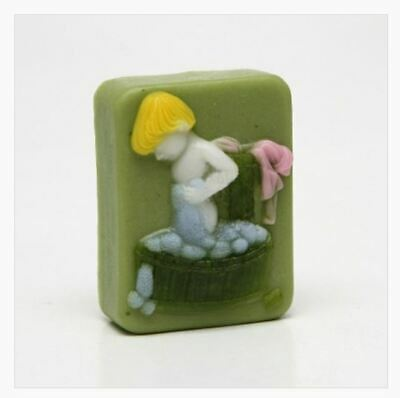Silicone Bathing Child Soap Mould Mold