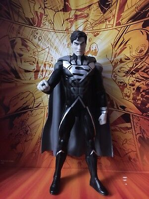 DC Direct Blackest Night Series 7 Black Lantern Superman Action Figure